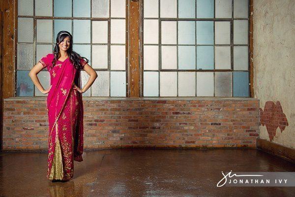 Bride-in-Sari