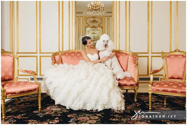 girl-with-standard-poodle