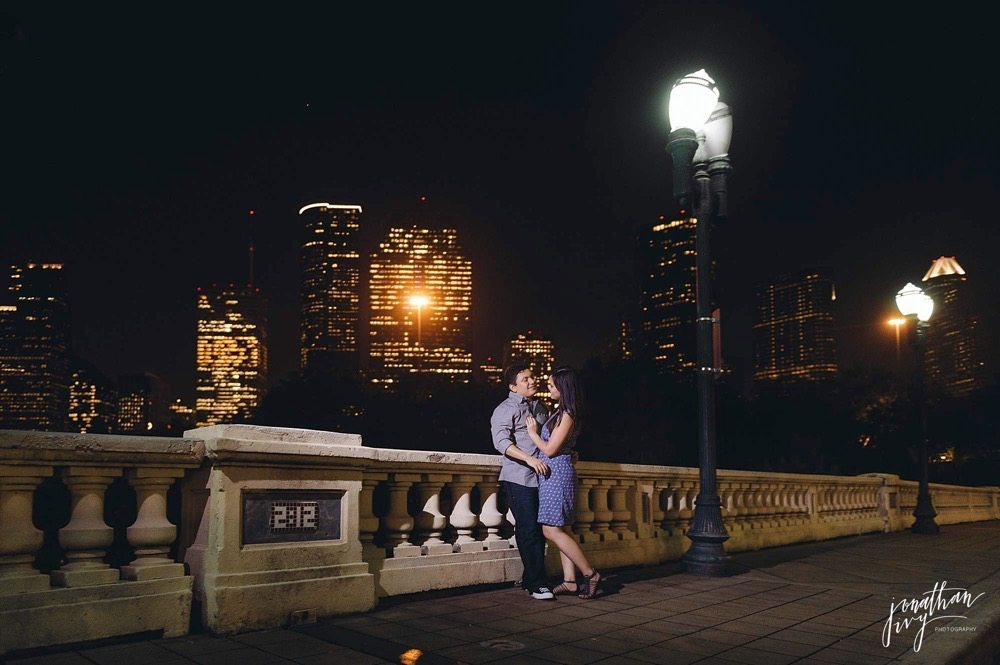 Fall engagement in Houston