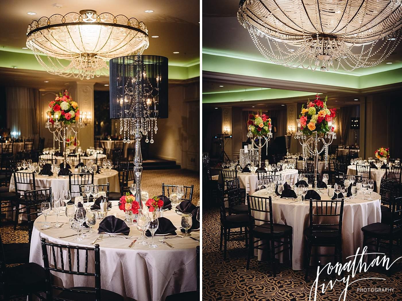 Hotel Zaza Houston Phantom Ballroom Reception