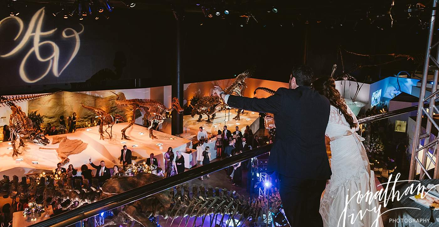 Houston Museum of Natural Science Wedding Reception