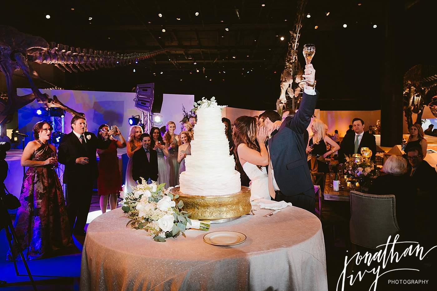 Dinosaur Themed Wedding