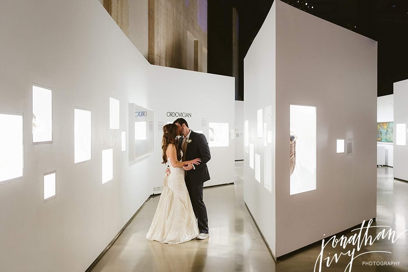 Houston Museum Wedding