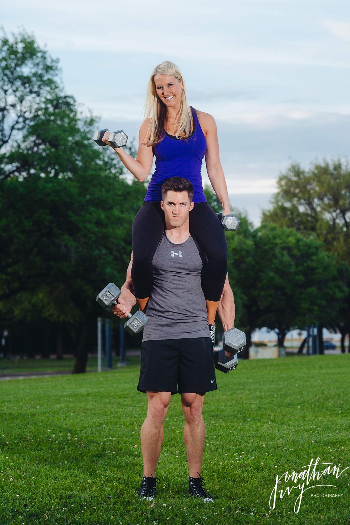 Fitspo Engagement Photos