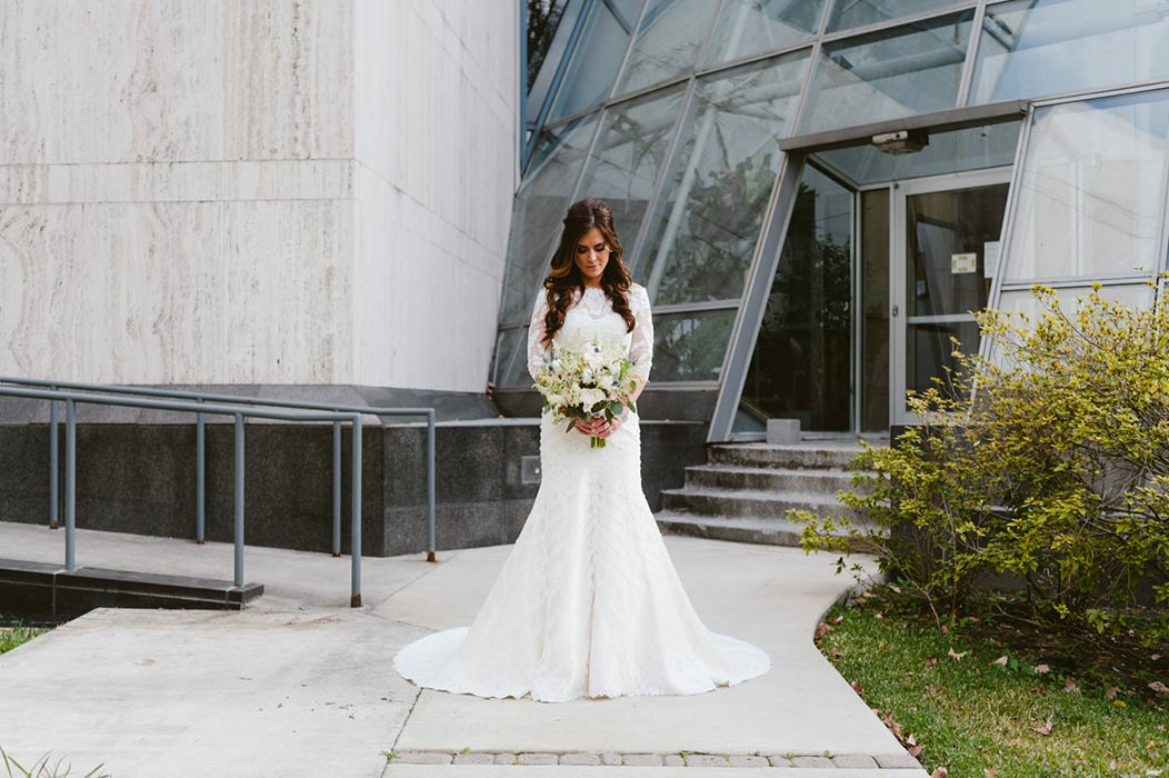 Houston Museum Bridal Portraits