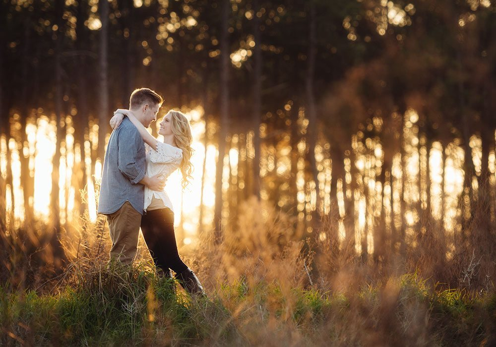 Best Engagement Photographer The Woodlands