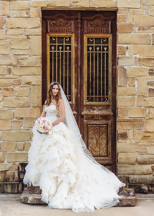 Bridal Portrait The Woodlands