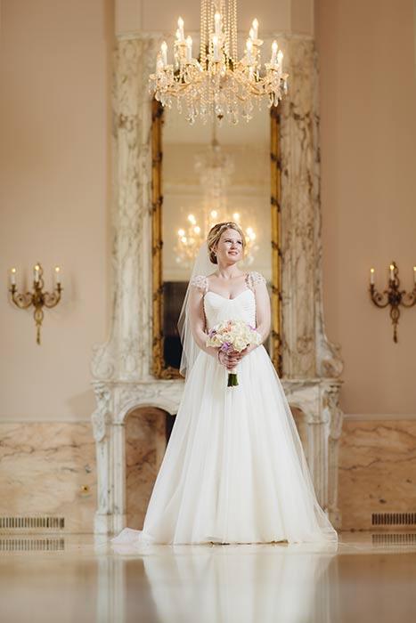 Chantilly Room Bridal Portrait