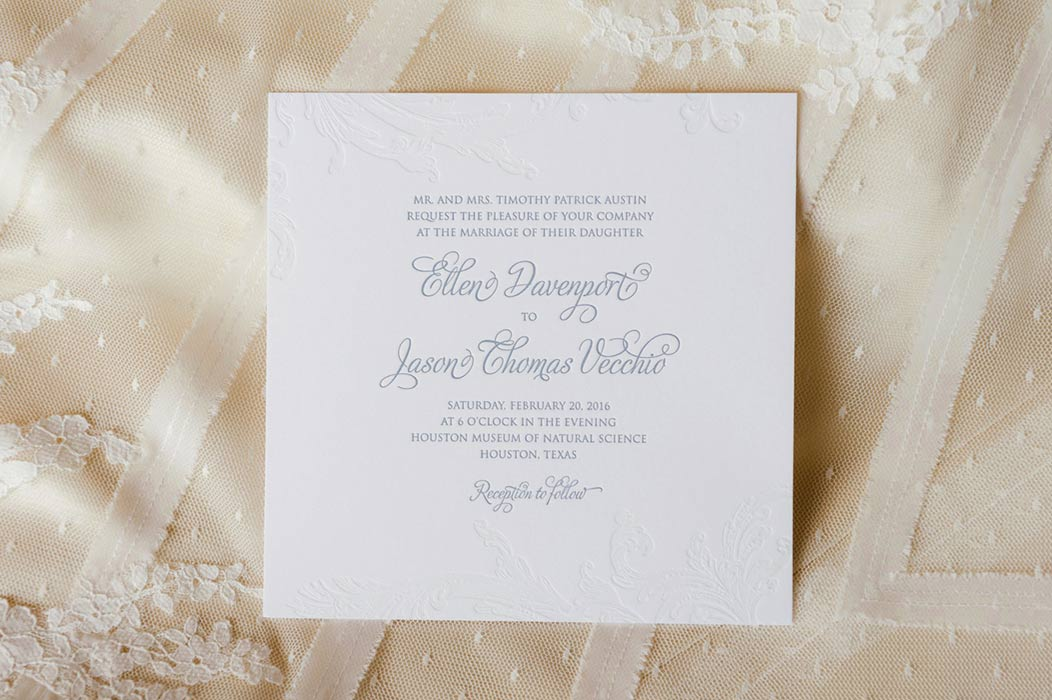 Gorgeous Wedding Invitations Houston