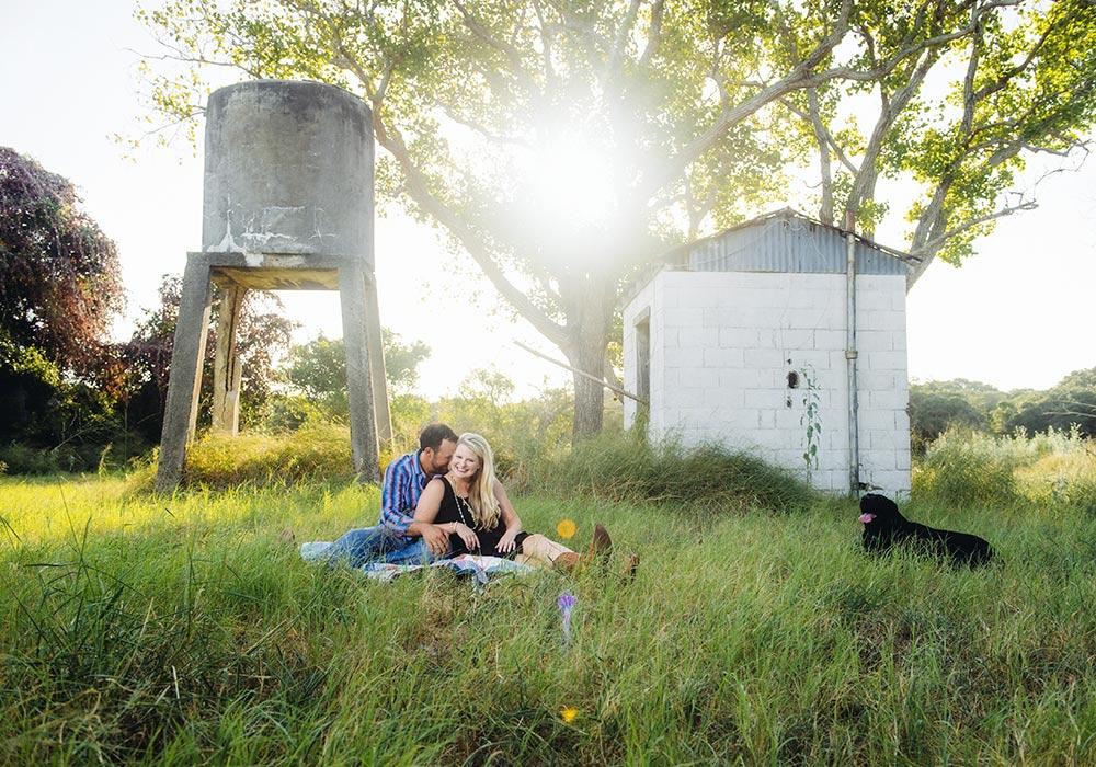 Rustic Engagement Photographer