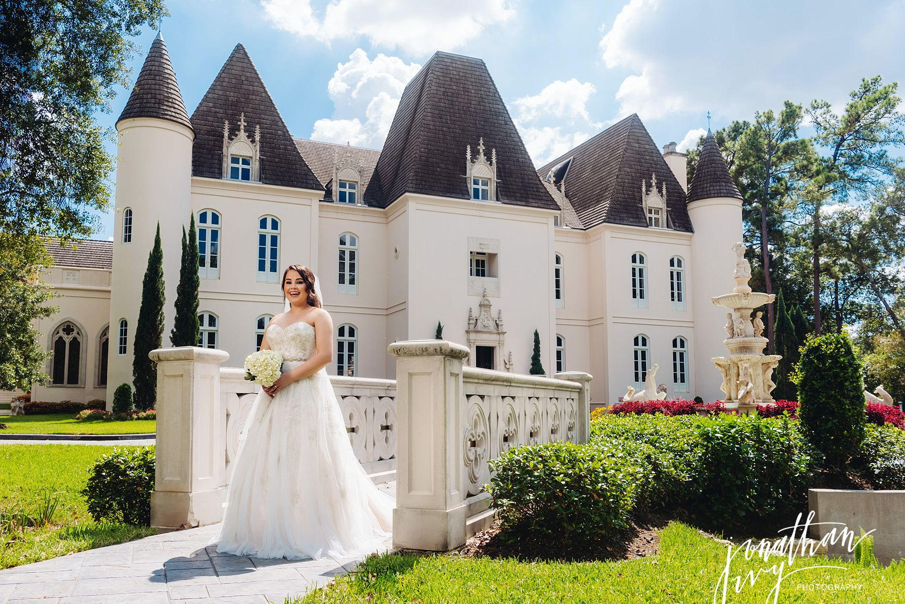 Chateau Cocomar Bridal Photos