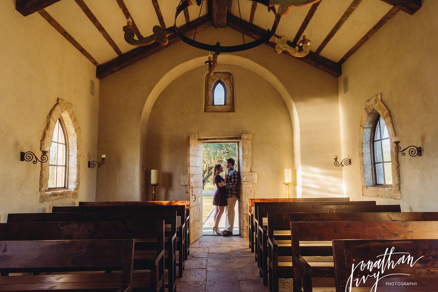 Chapel The Club at Houston Oaks Chapel Engagement