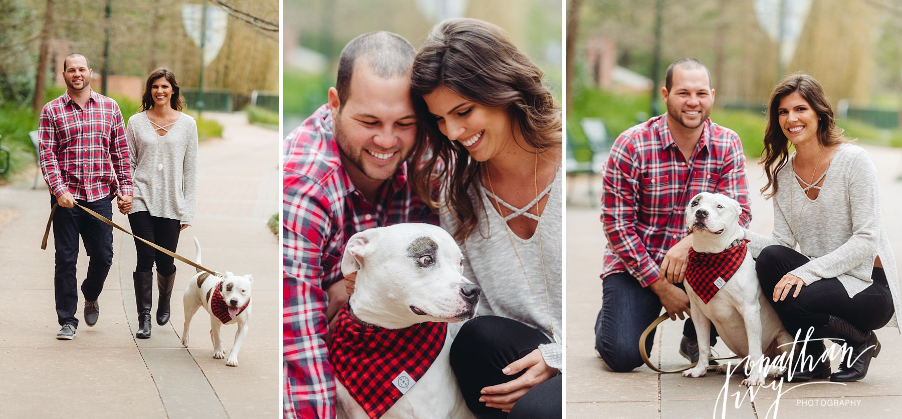 The Woodlands Waterway Engagement Photos