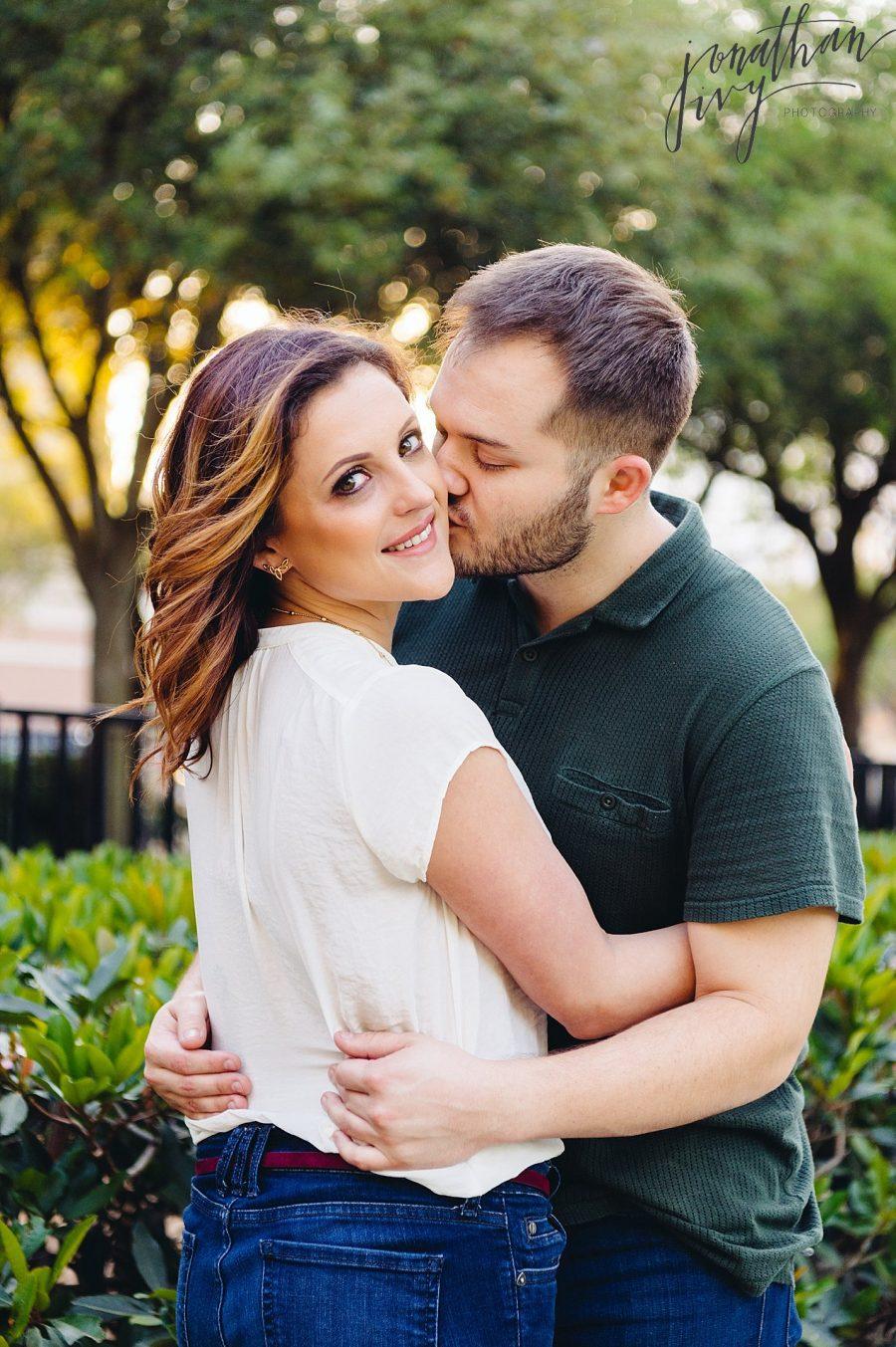 Beautiful Houston Engagement