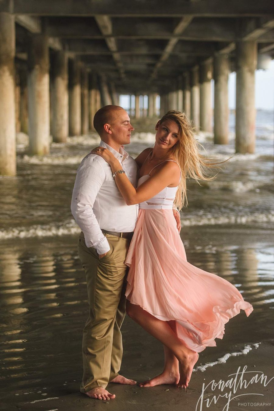 How To Dress for Engagement on Beach
